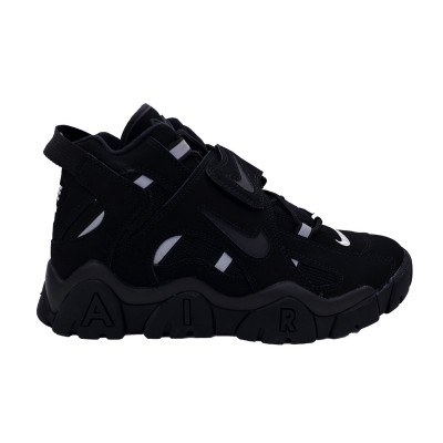 NIKE AIR BARRAGE MID SNEAKERS NERO BIANCO AT7847-002