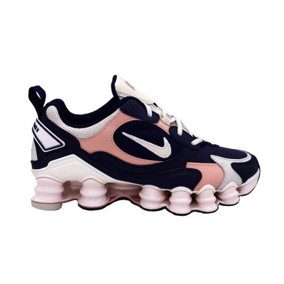 NIKE SHOX TL NOVA SNEAKERS BLU ROSA BIANCO AT8046-400