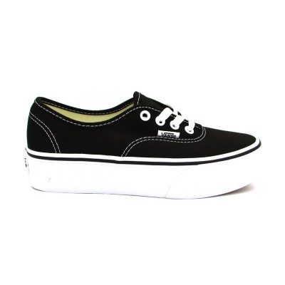 VANS SNEAKERS AUTHENTIC PLATFORM NERO-BIANCO AV8BLK