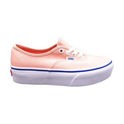 VANS SNEAKERS AUTHENTIC PLATFORM ROSA-BIANCO AV8RZ6