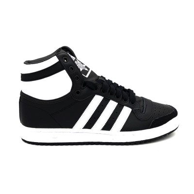 ADIDAS TOP TEN HI SNEAKERS NERO BIANCO B34429