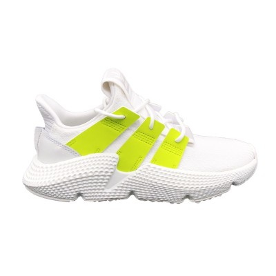 ADIDAS SNEAKERS PROPHERE W BIANCO VERDE FLUO B37659