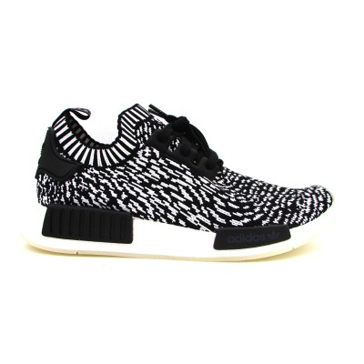 the latest a69f3 be47a ADIDAS SNEAKERS NMD R1 PK FANTASIA NERO-BIANCO BY3013