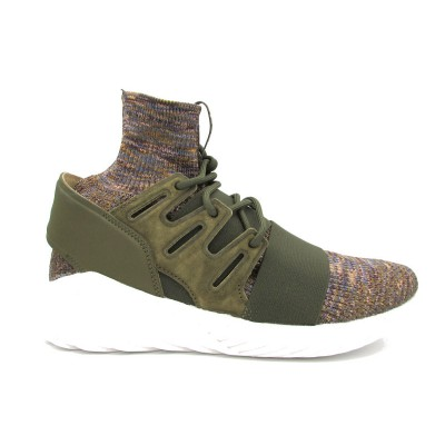 ADIDAS TUBULAR DOOM PK SNEAKERS VERDE BIANCO FANTASIA BY3551