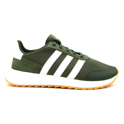ADIDAS SNEAKERS FLB W VERDE MILITARE-BIANCO BY9303