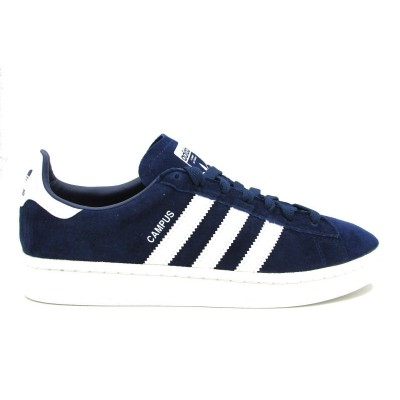 ADIDAS CAMPUS J SNEAKERS BLU BIANCO BY9579