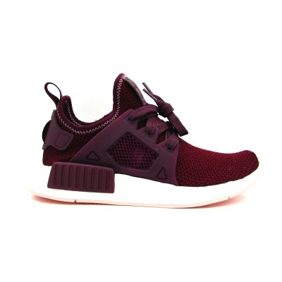 ADIDAS NMD_XR1 W SNEAKERS BORDEAUX BIANCO BY9820