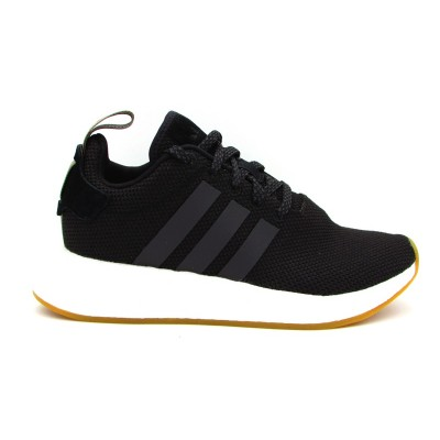 ADIDAS NMD_R2 SNEAKERS NERO BIANCO BY9917