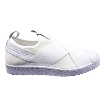 ADIDAS SNEAKERS SUPERSTAR SLIP ON SNEAKERS BIANCO BZ0111