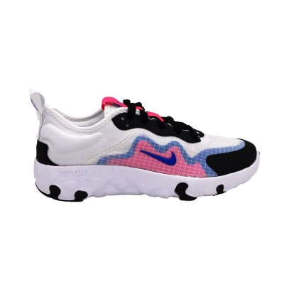 NIKE RENEW LUCENT GS SNEAKERS BIANCO NERO ROSA CELESTE CD6906-101