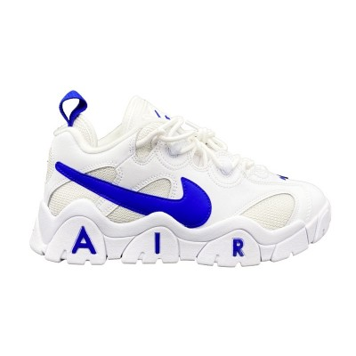 NIKE AIR BARRAGE LOW SNEAKERS BIANCO BLU CD7510-100