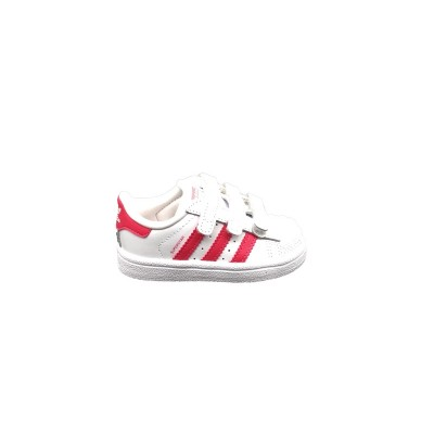 ADIDAS SNEAKERS SUPERSTAR CF I BIANCO ROSA  CG6638