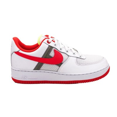 NIKE AIR FORCE 1 '07 LV8 1 SNEAKERS BIANCO ROSSO CI0060-102