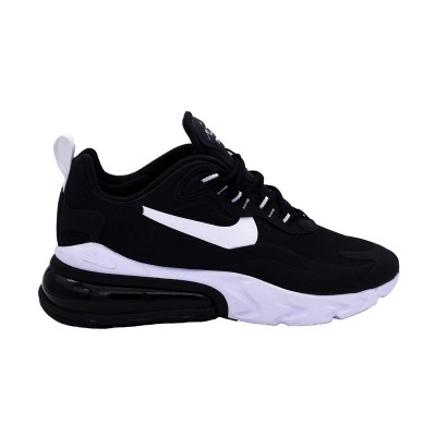 NIKE AIR MAX 270 REACT SNEAKERS NERO BIANCO CI3899-002