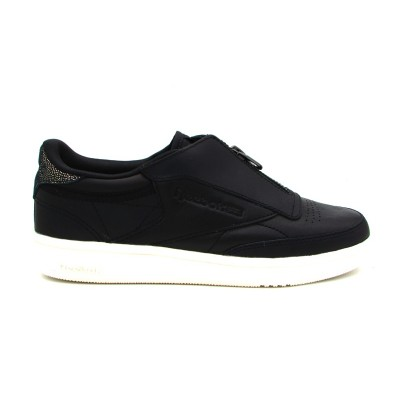 REEBOK SNEAKERS CLUB C 85 ZIP M NERO-BIANCO CN0140