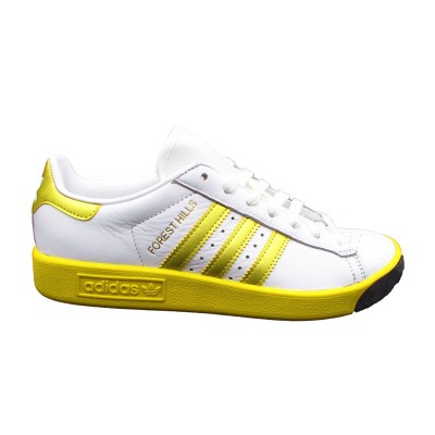 ADIDAS FOREST HILLS SNEAKERS BIANCO GIALLO ORO CQ2083