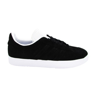 ADIDAS GAZELLE STICH AND TURN SNEAKERS NERO BIANCO CQ2358