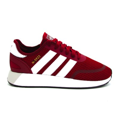 ADIDAS N-5923 SNEAKERS BORDEAUX BIANCO DB0960