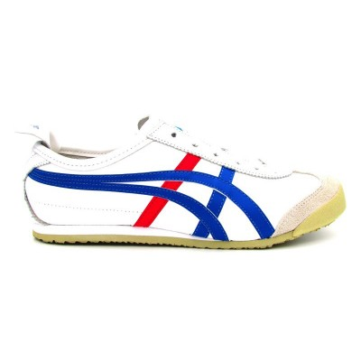 ASICS SNEAKERS MEXICO 66 BIANCO BLUE DL408-0146