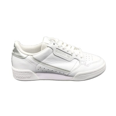 ADIDAS CONTINENTAL 80 W SNEAKERS BIANCO ARGENTO
