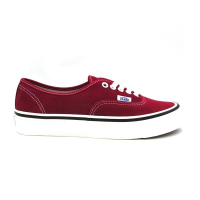 VANS AUTHENTIC 44 DX SNEAKERS BORDEAUX BIANCO ENUL21