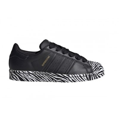 ADIDAS SUPERSTAR W SNEAKERS NERO BIANCO FV3448