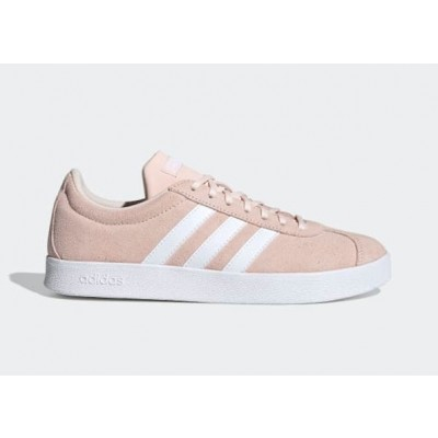 ADIDAS VL COURT 2.0 SNEAKERS ROSA BIANCO FW1370