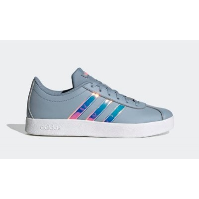 ADIDAS VL COURT 2.0 K SNEAKERS BLU MULTICOLORE FW4594