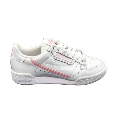 ADIDAS SNEAKERS CONTINENTAL 80 W BIANCO ROSA  G27722