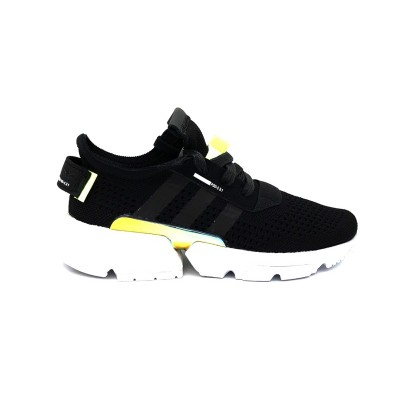 ADIDAS SNEAKERS POD-S3.1 W BLACK WHITE FLUO  ORIGINALS DA8693