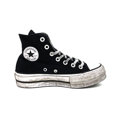 CONVERSE SNEAKERS CTAS HI LIFT CANVAS LTD BLACK SMOKE IN 564527C