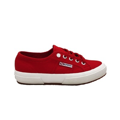 SUPERGA SNEAKERS 2750 COTU CLASSIC RED-WHITE S000010-C90
