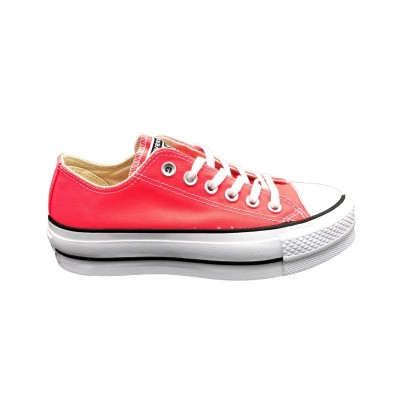 CONVERSE SNEAKERS CTAS CLEAN LIFT OX RACER PINK-WHITE-BLACK 565501C