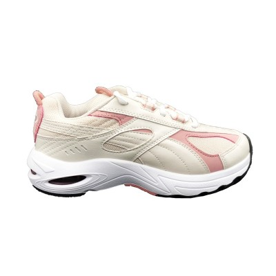 PUMA CELL SPEED SNEAKERS BIANCO ROSA 370700-04