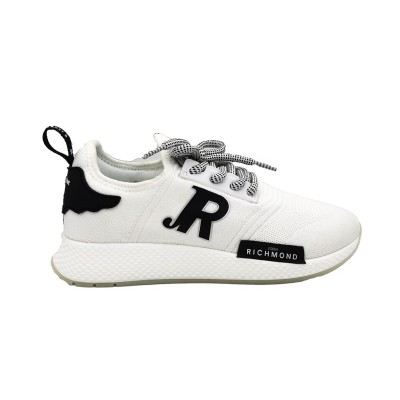 JOHN RICHMOND SNEAKERS SOCK BIANCO  JR1/W A