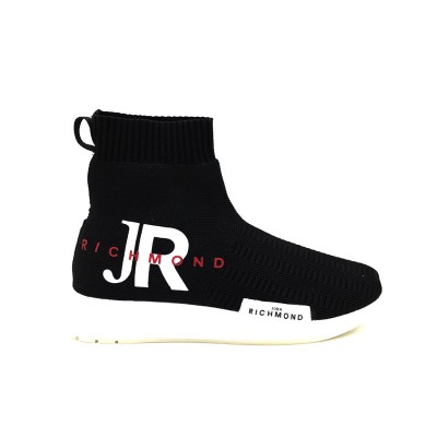 JOHN RICHMOND SNEAKERS WOMAN' S HALF BOOTS NERO JR3/W D