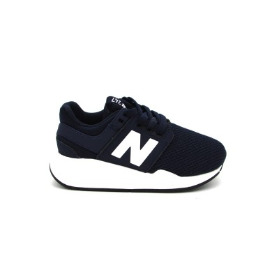 NEW BALANCE SNEAKERS 247 BLU BIANCO KA247TOP