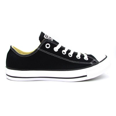 CONVERSE SNEAKERS ALL STAR OX NERO BIANCO M9166C