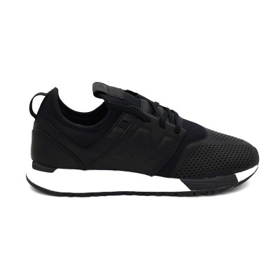 NEW BALANCE 247 SNEAKERS NERO BIANCO MRL247VE