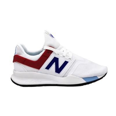 NEW BALANCE SNEAKERS 247 BIANCO ROSSO BLU MS247FO