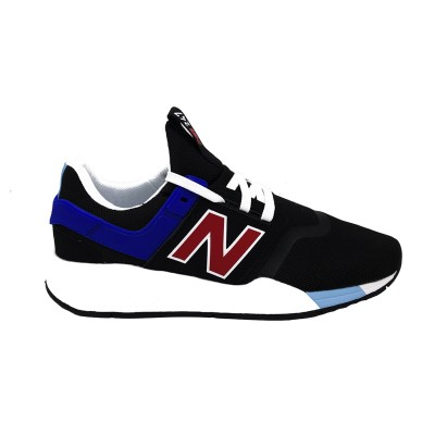 NEW BALANCE SNEAKERS 247 NERO BLU ROSSO BIANCO MS247FQ
