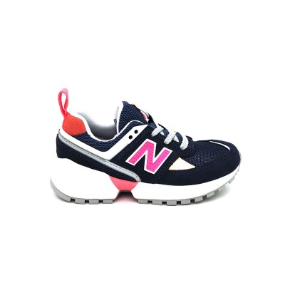 NEW BALANCE 574 SNEAKERS BLU ROSA PS574SN