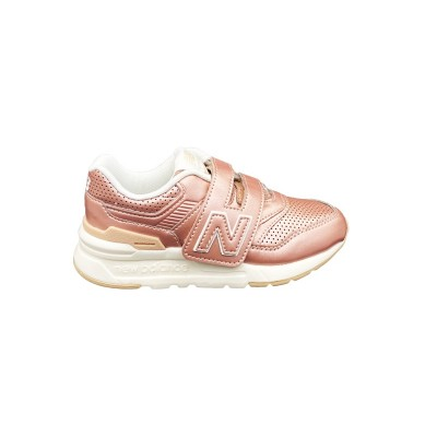 NEW BALANCE 997 SNEAKERS ROSA BIANCO PZ997HRS