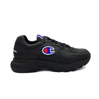 CHAMPION SNEAKERS CWA-1 LEATHER NERO  S20850-S19-KK001