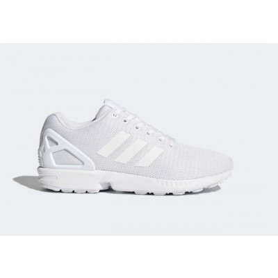 ADIDAS ZX FLUX SNEAKERS BIANCO S32277