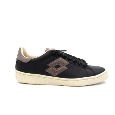 LOTTO AUTOGRAPH SNEAKERS NERO BEIGET0860