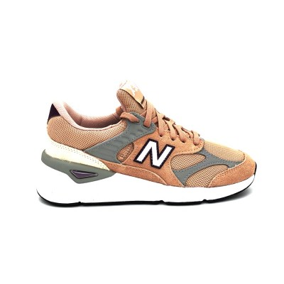 NEW BALANCE X90 SNEAKERS ROSA GRIGIO WSX90RPA