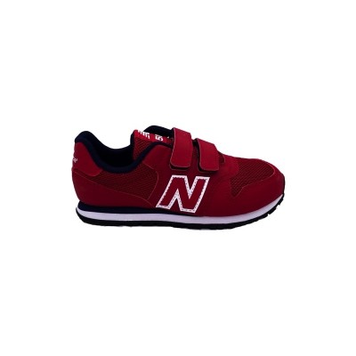 NEW BALANCE 500 SNEAKERS ROSSO BLU BIANCO YV500RR
