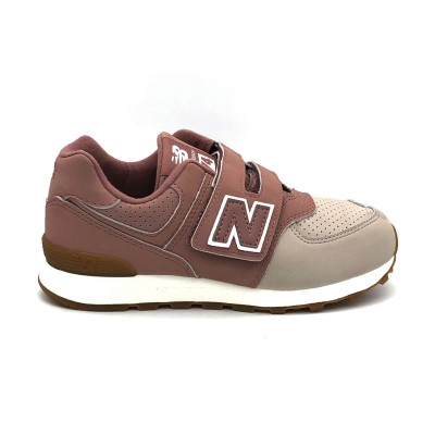 NEW BALANCE 574 SNEAKERS ROSA YV574BUA